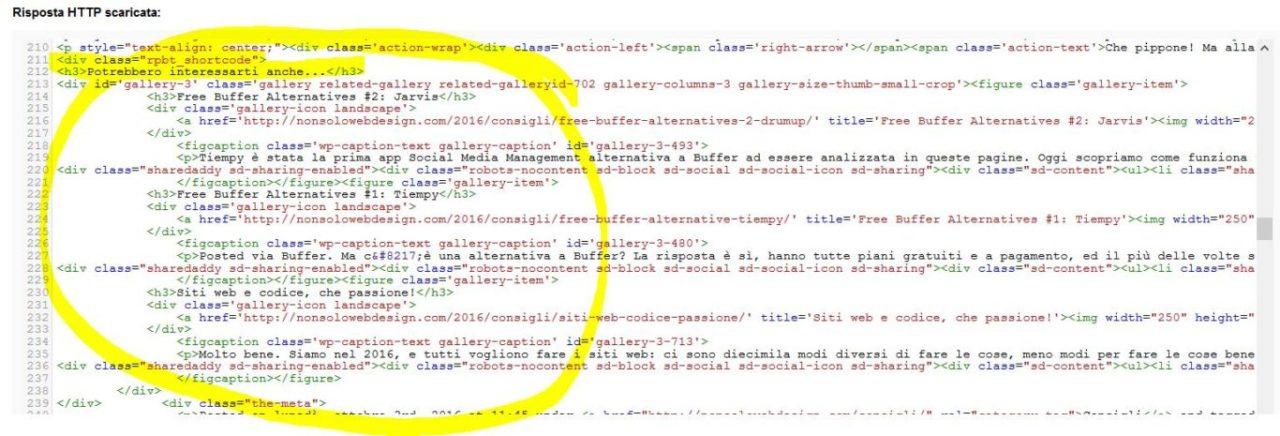 Related Posts by Taxonomy: gli articoli correlati visti da googlebot