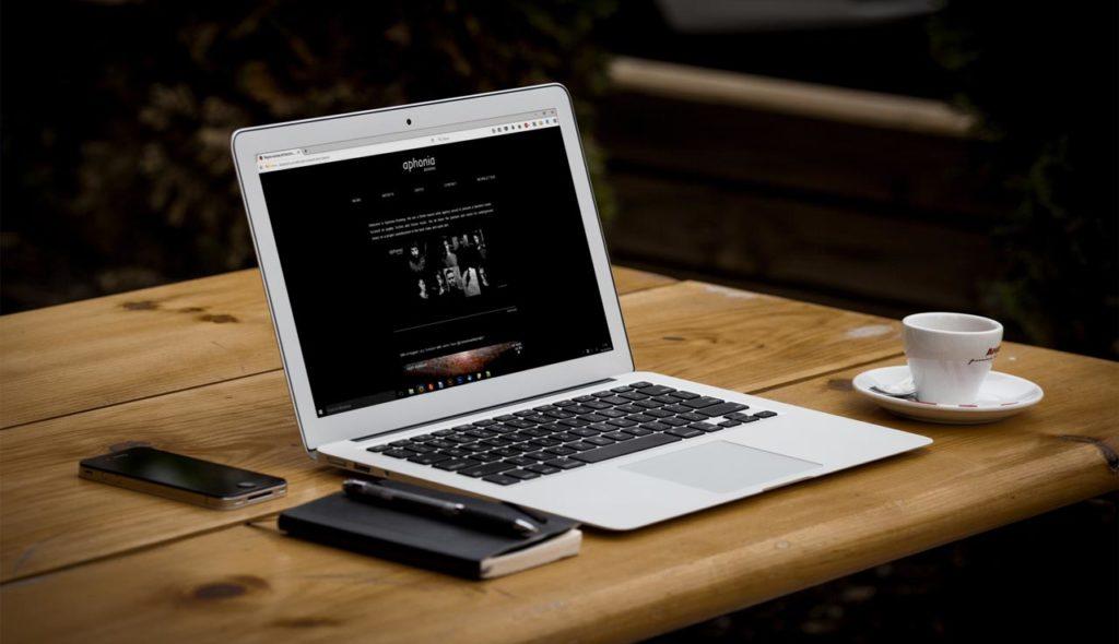 Aphonia Booking - Sito.Express - Realizzazione siti web professionali per etichetta discografica - Roma