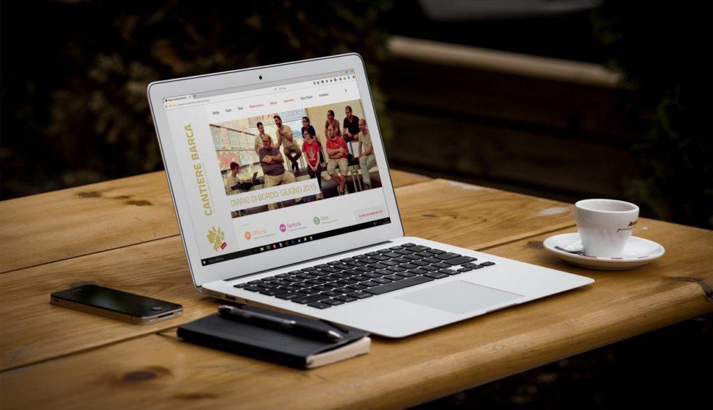 Sito Web Associazione Cantiere Barca - Notebook