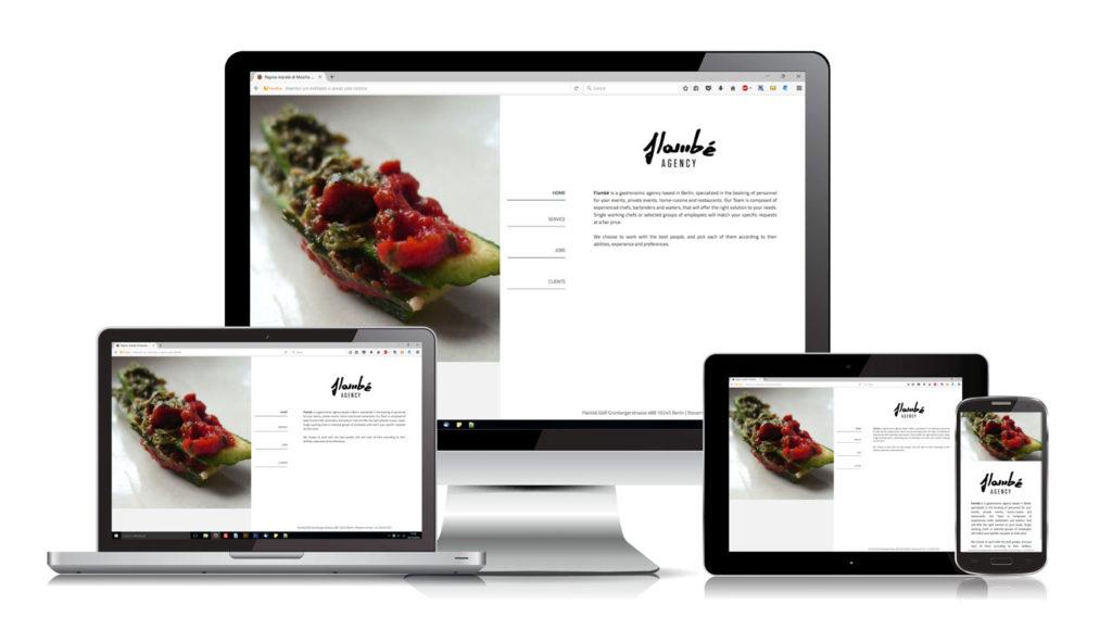 Realizzazione Sito Web - Catering - Responsive Design