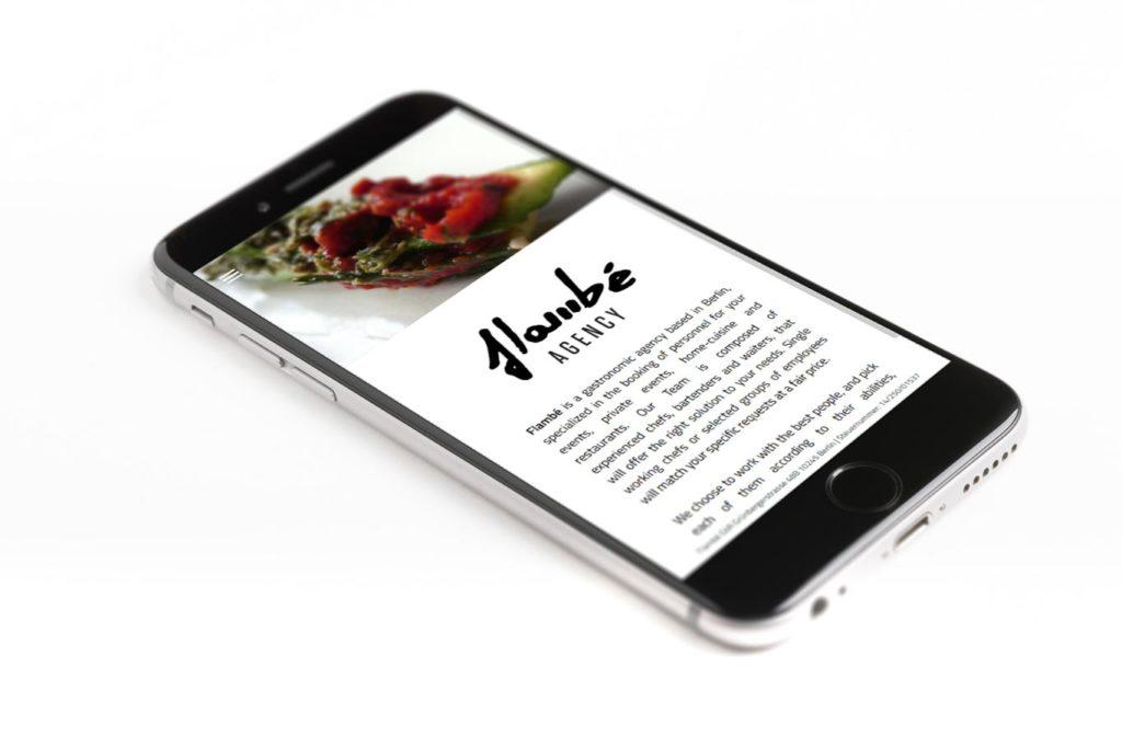 Realizzazione Sito Web - Catering - Responsive Design - Smartphone