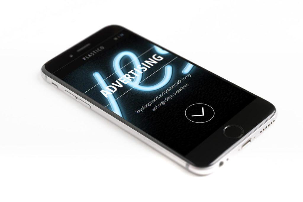 Plastico Film - Videomaking - Ecommerce - Responsive Design- Smartphone