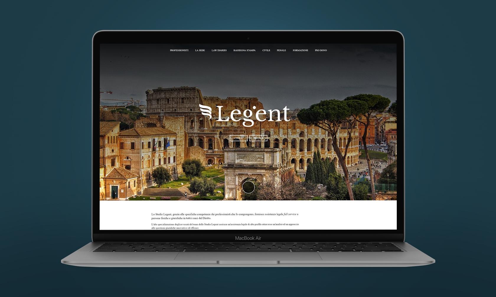 Studio Legent - Sito.Express - Realizzazione siti web per Studio Legale - Roma