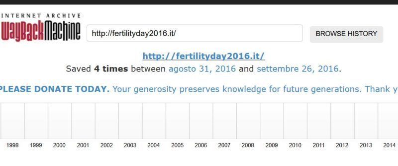 FertilityDay2016.it