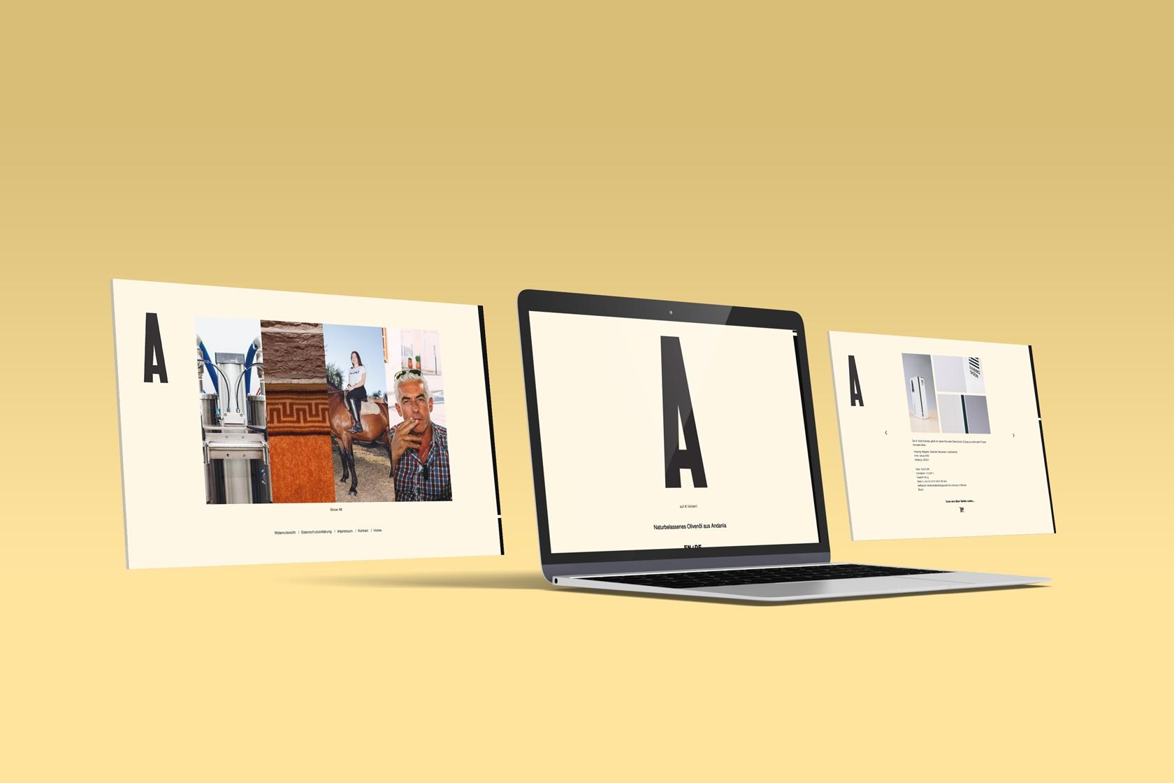 Andania - Sito.Express - Realizzazione siti web per azienda - Roma