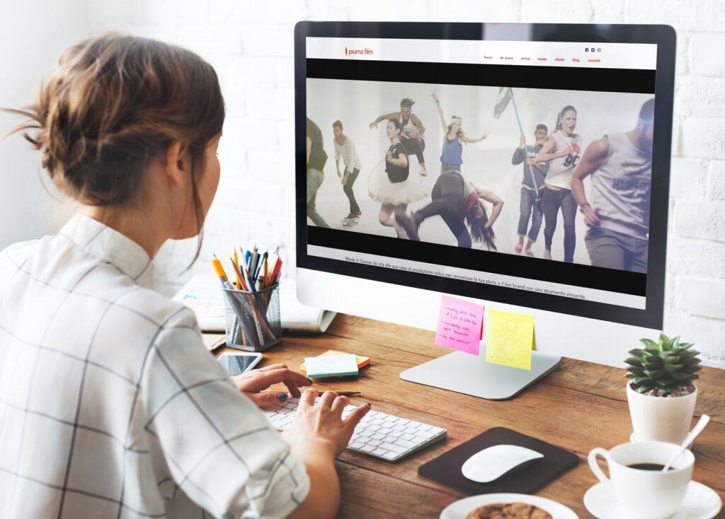 Piumafilm - Sito.Express - Realizzazione siti web per agenzia di produzione video - Roma