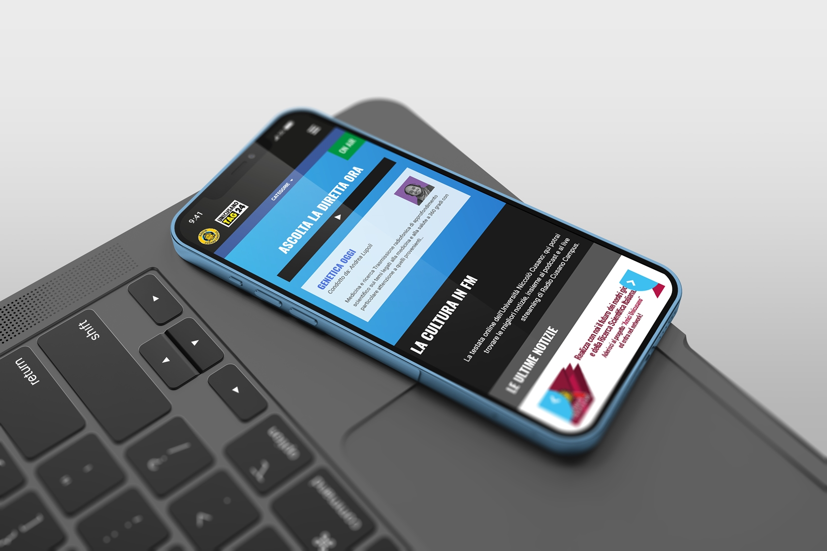 Tag24- Sito.Express - Realizzazione siti web per web radio - Roma