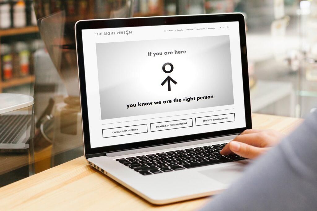 The Right Person - Sito.Express - Realizzazione siti web per agenzia di consulenze - Roma