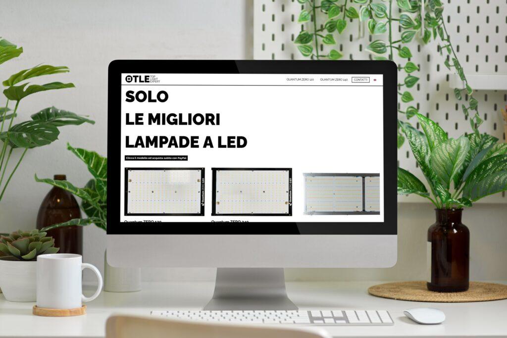 Top Light Expert - Sito.Express - Realizzazione siti web per azienda - Roma