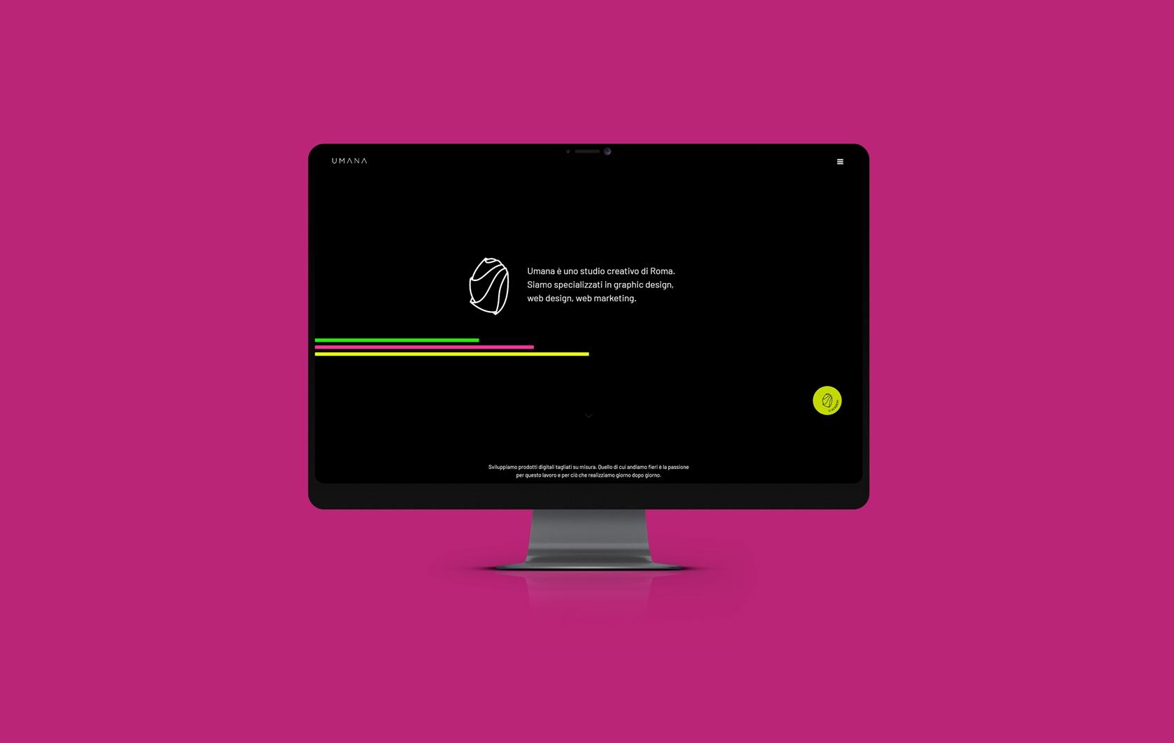 Umana Creative Studio - Sito.Express - Realizzazione siti web per agenzia creativa  - Roma