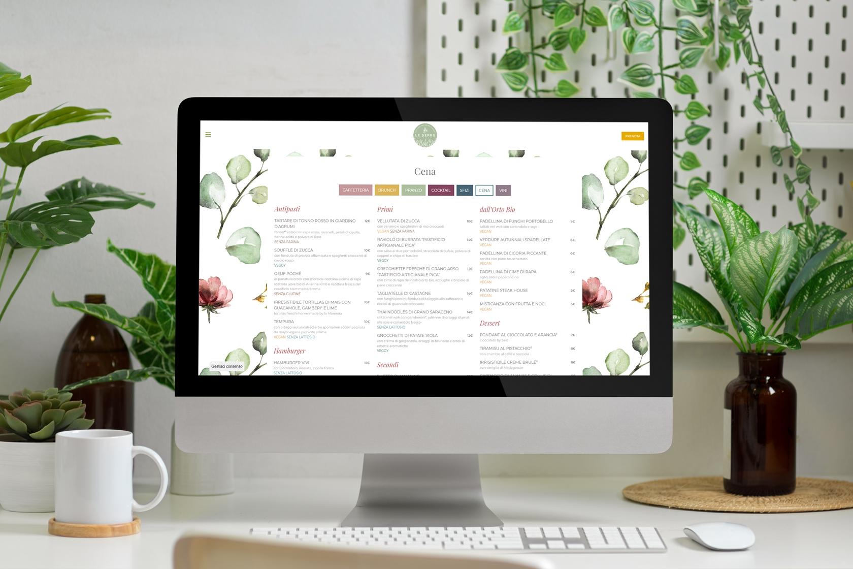 Vivileserre - Sito.Express - Realizzazione siti web per ristoranti - Roma