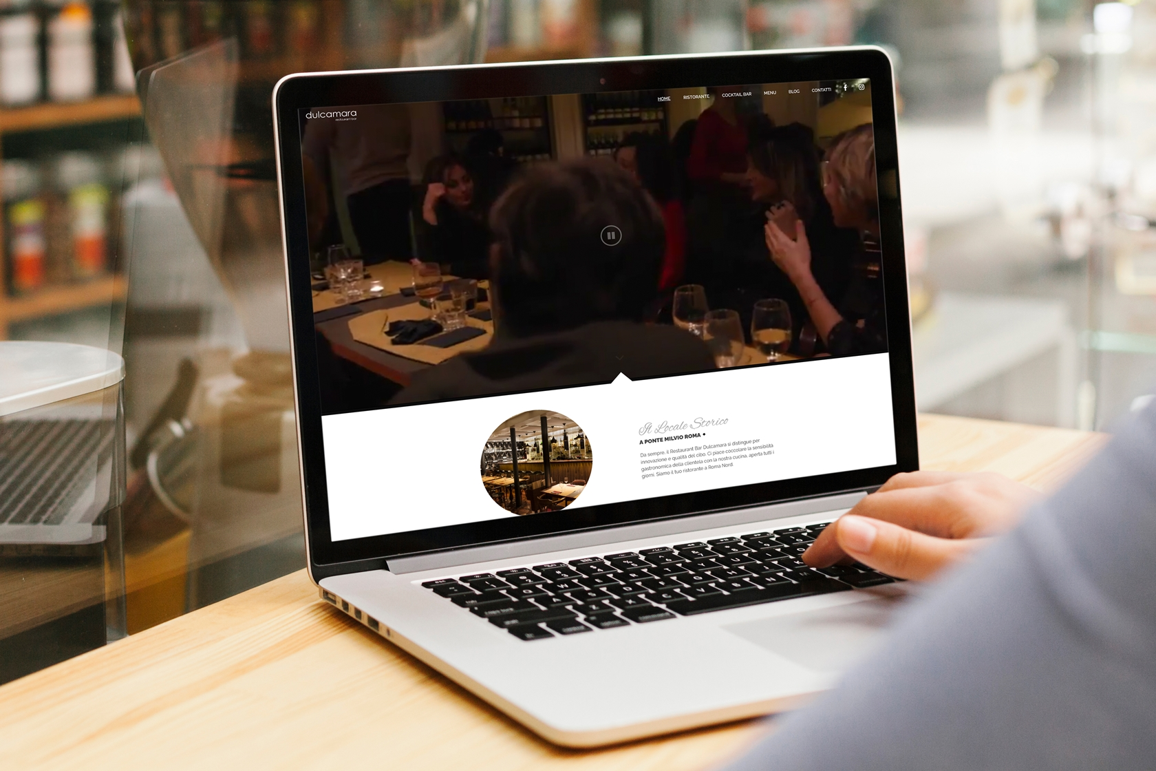 Dulcamara - Sito.Express - Realizzazione siti web per ristoranti bar - Roma